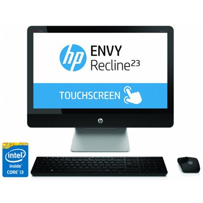 ENVY Recline TouchSmart 23` 23-k110 All-In-One Intel Core i3-4130T - OPEN BOX