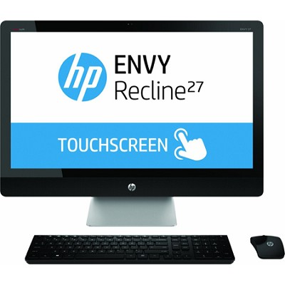 ENVY Recline TouchSmart 27` 27-k150 All-In-One PC - Intel Core i5-4570T Proc.