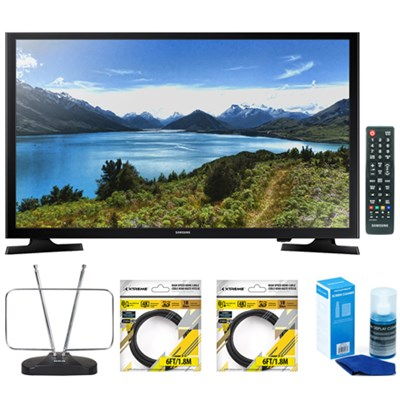 32-Inch 720p 60Hz Smart LED TV UN32J4500 with Accessories Bundle