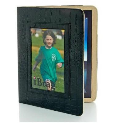 Wet Croco iBrag iPad Case (Black/Khaki)