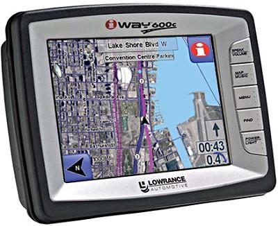 iWAY 600C Street & Marine Ready Portable GPS navigator - OPEN BOX