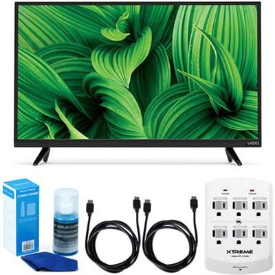 D39hn-E0 D-Series 39` Class Full-Array LED TV w/ Accessory Bundle