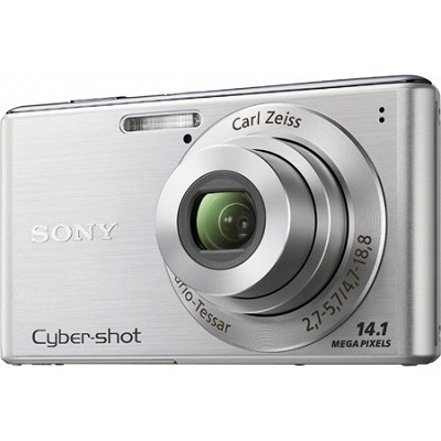 Cyber-shot DSC-W530 Silver Digital Camera - OPEN BOX