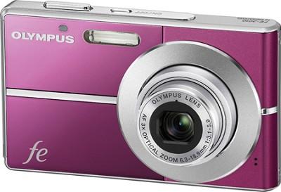 FE-3010 12MP 2.7` LCD Digital Camera (Magenta) - REFURBISHED