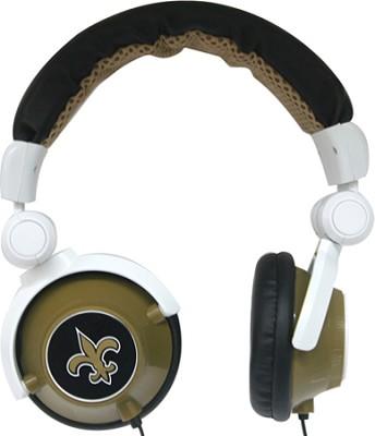 NFL Football Licensed New Orleans Saints DJ Style Headphones