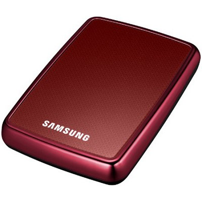 HXMU032DA/G42 - HDD S2 Portable External 320 GB Hard Drive (Red)