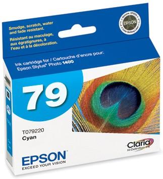 Claria Hi-Definition Ink Cartridge (Cyan) for Epson Stylus 1400