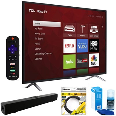 49` Class S-Series 4K UHD HDR Roku Smart TV + Soundbar Bundles