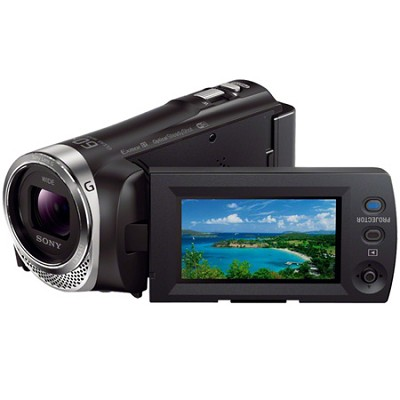 HDR-PJ340/B Full HD 60p Camcorder w/ built-in Projector