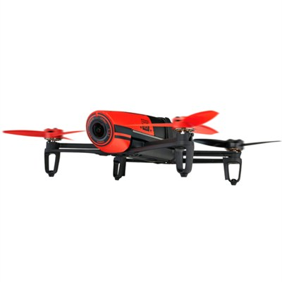 BeBop Drone 14 MP Full HD 1080p Fisheye Camera Quadcopter (Red) - PF722000