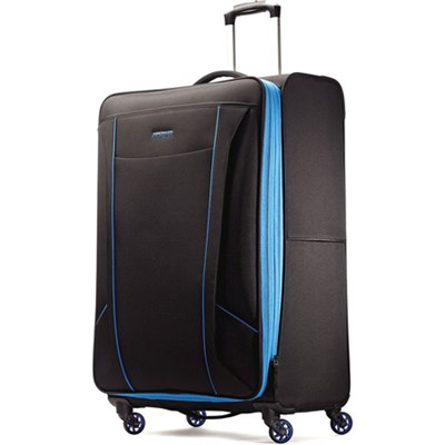 Skylite 29` Black / Blue Spinner Luggage
