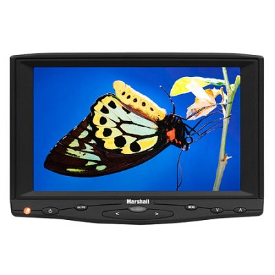 7` HDMI Monitor With Canon BP511 Battery kit