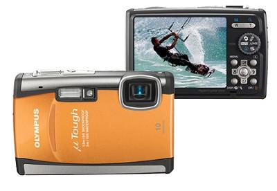 Stylus Tough 6000 10MP 2.7 inch LCD Digital Camera (Orange) - REFURBISHED