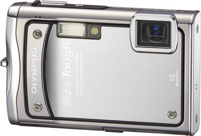 Stylus Tough 8000 12MP 2.7` LCD Digital Camera (Silver) - Refurbished