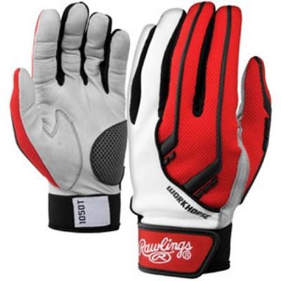 BGP1050T - 1050 Workhorse Batting Gloves, Scarlet, Large