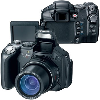 Powershot S3 IS Digital Camera