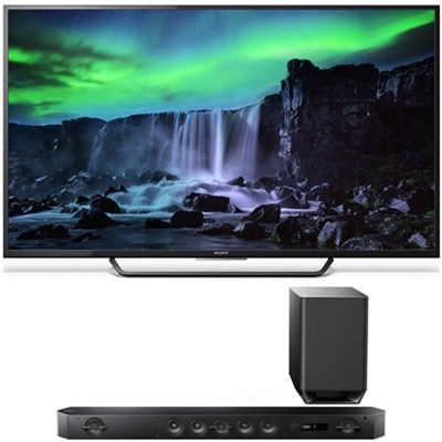 XBR-65X810C 65-Inch 4K UHD 120Hz Android Smart LED TV w/ Sony HT-ST9 Sound Bar