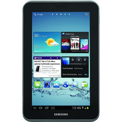 Galaxy Tab 2 7.0` Tablet (8GB, WiFi, Titanium Silver) - OPEN BOX
