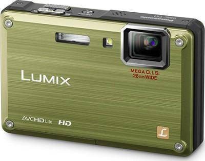 DMC-TS1G LUMIX 12.1 Megapixel TOUGH Digital Camera (Green) - REFURBISHED