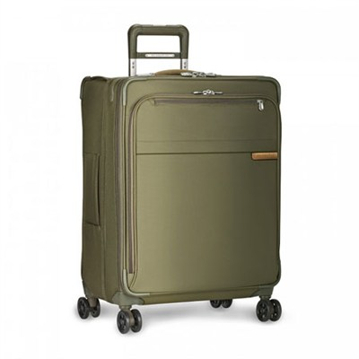 Baseline Collection 25` Medium Expandable Luggage Spinner (Olive) U125CXSP-7