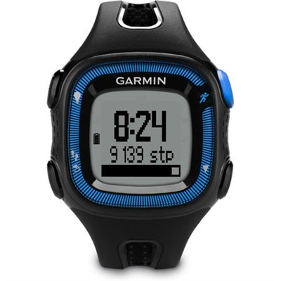 Forerunner 15 Activity Tracker GPS Running Watch, Large (Blue) - Refurbished