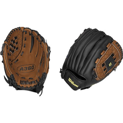 A360 Youth Baseball Glove - Right Hand Throw - Size 12`
