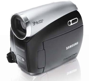 SC-D382 Compact Mini-DV Digital Camcorder with 34x Optical Zoom