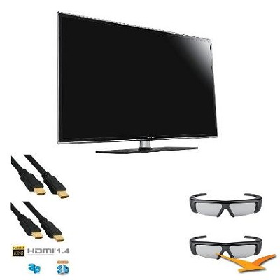 UN40D6500 40` LED 3D HDTV 1080p 120hz Wifi Built In 3D Kit
