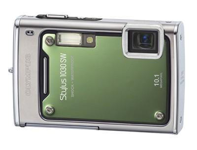Stylus 1030 SW 10MP Shockproof Waterproof Digital Camera Green REFURBISHED