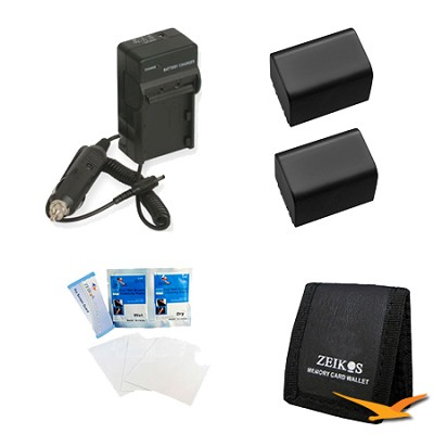 Travel Power Kit for the Sony HDR-CX190, CX200, CX260V, XR260V, CX210