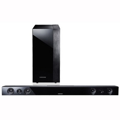 HW-F450 - 2.1-channel Home Theater Sound Bar with Wireless Subwoofer
