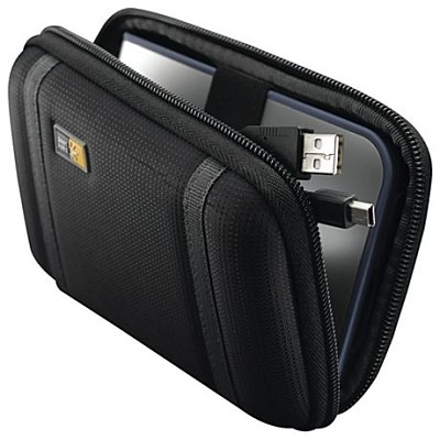 PHDC-1 Compact Portable Hard Drive Case In Black