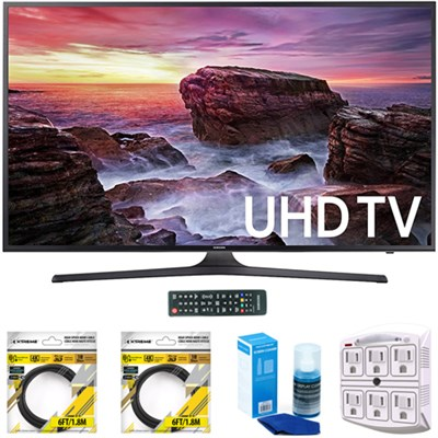 Flat 48.5` LED 4K UHD 6 Series Smart TV 2017 Model with Cleaning Bundle