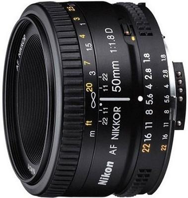 50mm F/1.8 D AF FS-52 Lens, With Nikon 5-Year USA Warranty