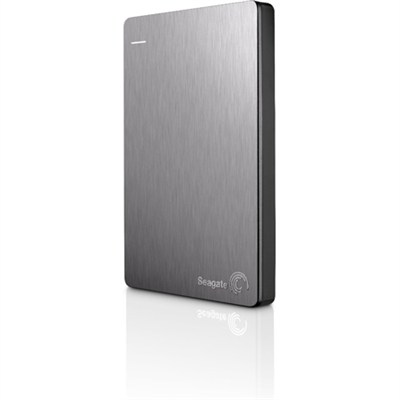 Backup Plus 500GB Portable External Hard Drive w/ Mobile Backup Slvr - OPEN BOX