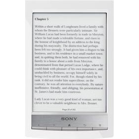 PRS-T1 6` Digital E-Ink Pearl eReader with Wi-Fi (White)