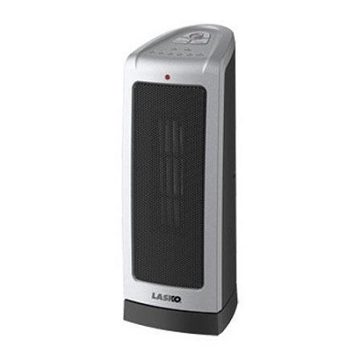 Oscillating Ceramic Tower Heater with Electronic Controls