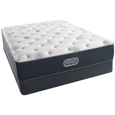 BeautyRest Recharge ~ Silver - Henderson Cove Luxury Firm PT Mattress - Queen