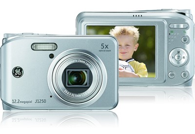 J1250 12MP Smart Series Digital Camera (Silver)