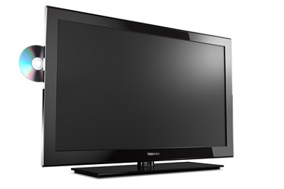 32SLV411 32-Inch 720p LED HDTV with Built-in DVD Player, Black- OPEN BOX