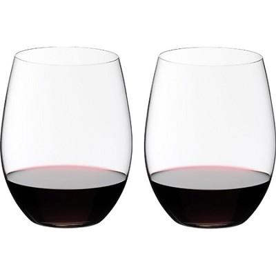 0414/00 Crystal Big `O` Wine Tumbler Cabernet Glass, Set of 2
