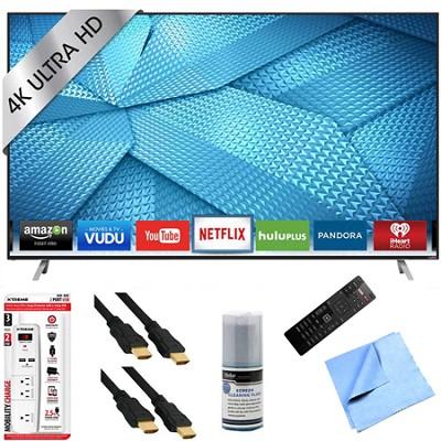 M50-C1 - 50-Inch 120Hz 4K Ultra HD M-Series LED Smart HDTV Hook-Up Bundle