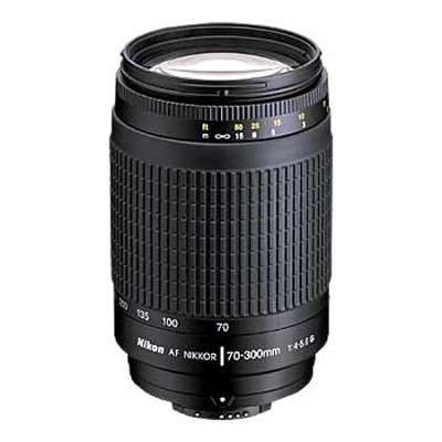 70-300mm F/4-5.6G AF Zoom-Nikkor Lens - OPEN BOX