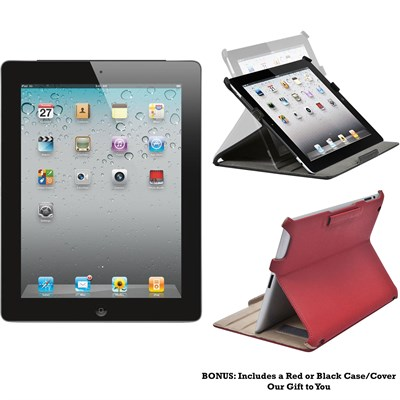 iPad 2 MC769LL/A Tablet ( iOS 7,16GB, WiFi) Black 2nd Generation (Refurbished)