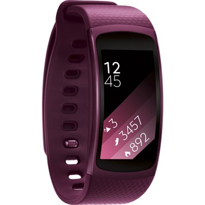 SM-R3600ZIAXAR Gear Fit2 Smartwatch with Large Band - Pink