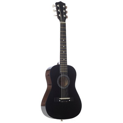 LAPKMBL 30` Student Acoustic/Electric Guitar Package - Metallic Black