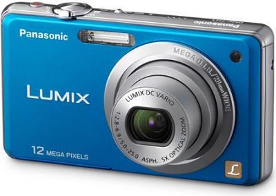 DMC-FH1A LUMIX 12.1 Megapixel Digital Camera (Blue) - REFURBISHED