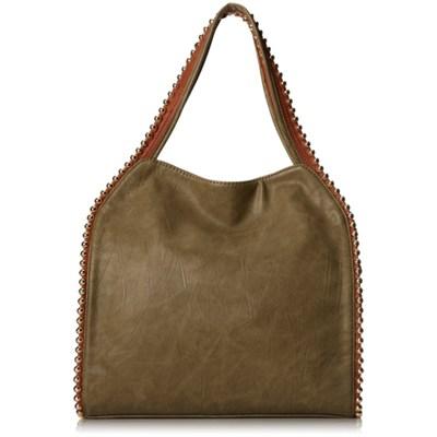 Grayson Shoulder Bag - Khaki