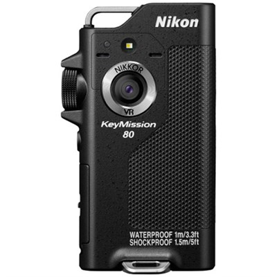 KeyMission 80 12.3MP Full HD Action Camera with Built-In Wi-Fi