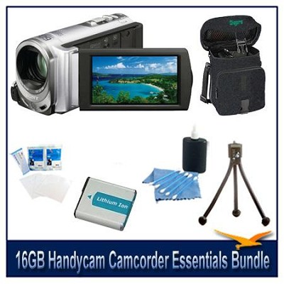 DCR-SX63 16GB Handycam Camcorder Essentials Bundle